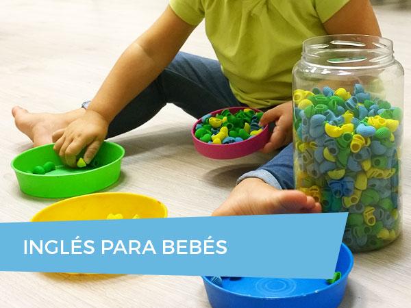 Cursos de Inglés para Bebés de 1 a 3 años en Donostia-San Sebastian