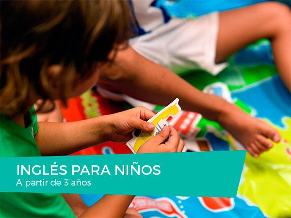 Cursos de Inglés para Niños a partir de 3 años en Donostia-San Sebastián
