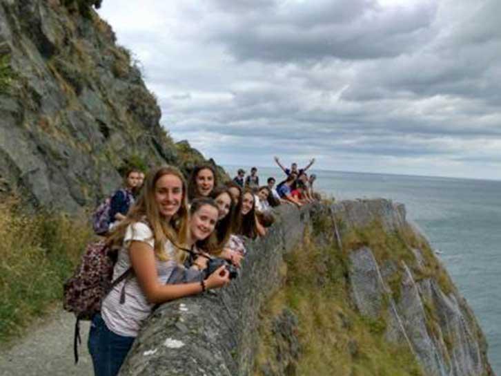 Estudiar inglés en Bray Irlanda en verano. Curso de Inglés más actividades.