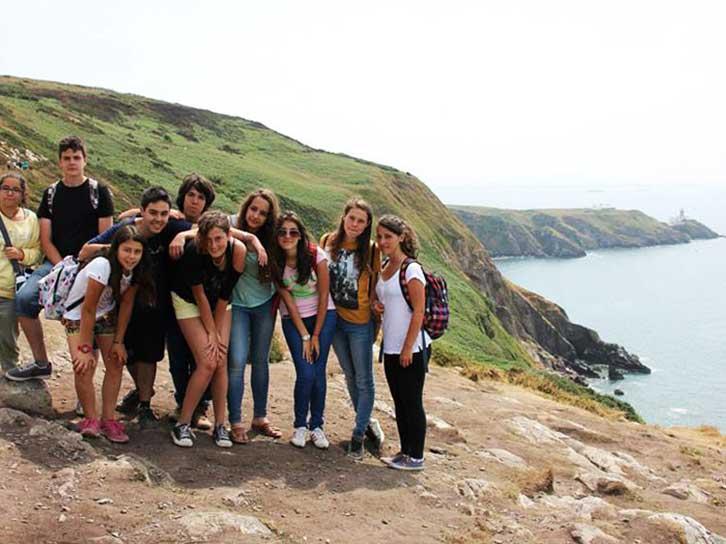 Estudiar inglés en Bray Irlanda en verano.