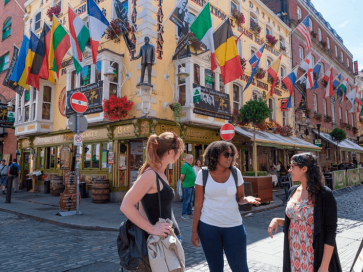 Estudiar inglés en Dublín Irlanda en verano.